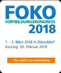 FOKO Fortbildungskongress 2018