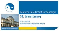 38. Jahrestagung der Deutschen Gesellschaft für Senologie