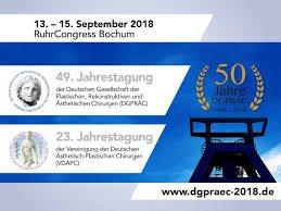 49. Jahrestagung der DGPRÄC und 23. Jahrestagung der VDÄPC