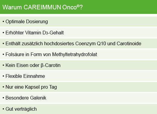 Warum CAREIMMUN Onco®?