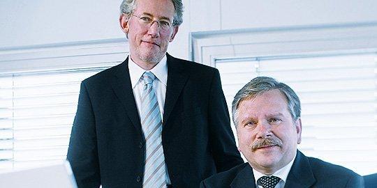 Dr. Thomas Stiefel und Ortwin Kottwitz