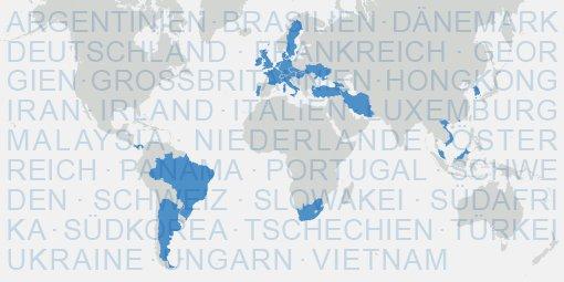 biosyn mit Zulassungen in 27 Ländern