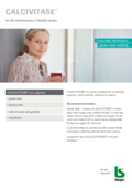 CALCIVITASE® - Consumer information