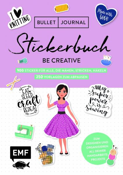 Bullet Journal - Stickerbuch - Be creative