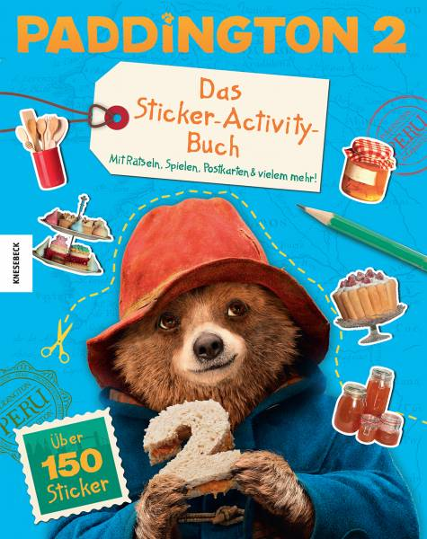 Paddington 2 - Das Sticker-Activity-Buch