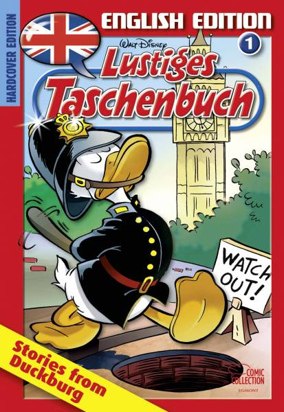 Lustiges Taschenbuch English Edition 01