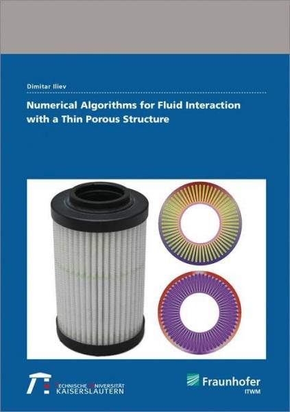 Numerical Algorithms for Fluid Interaction with a Thin Porous Structure