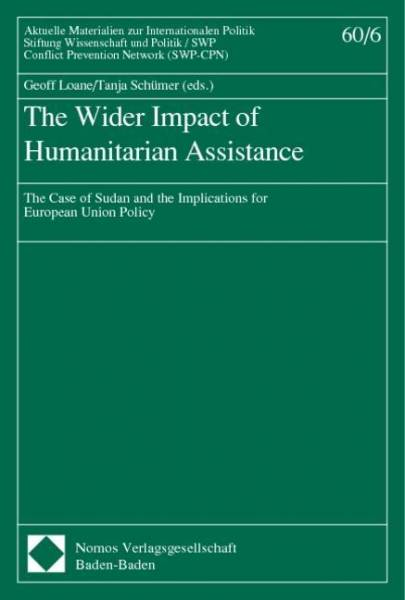 The Wider Impact of Humanitarian Assistance