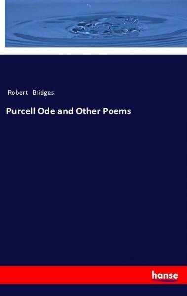 Purcell Ode and Other Poems