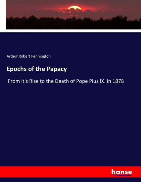 Epochs of the Papacy