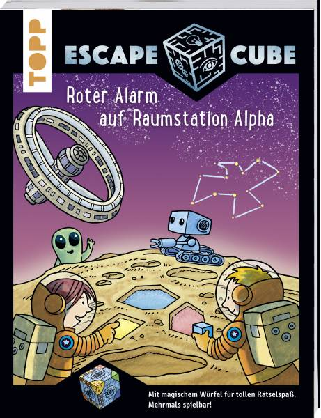 Escape Cube Kids Roter Alarm auf Raumstation Alpha