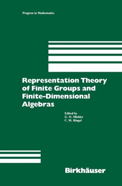 Representation Theory of Finite Groups and Finite-Dimensional Algebras