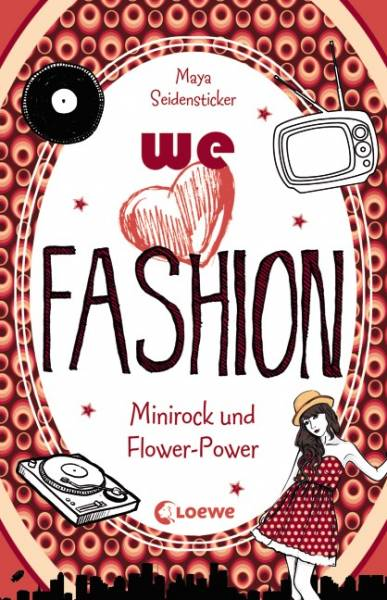 we love fashion - Minirock und Flower-Power - we love fashion
