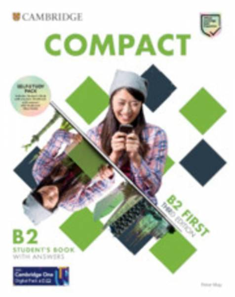 Compact First. Self-Study Pack (Student's Book with answers and Workbook with answers with Audio Dow