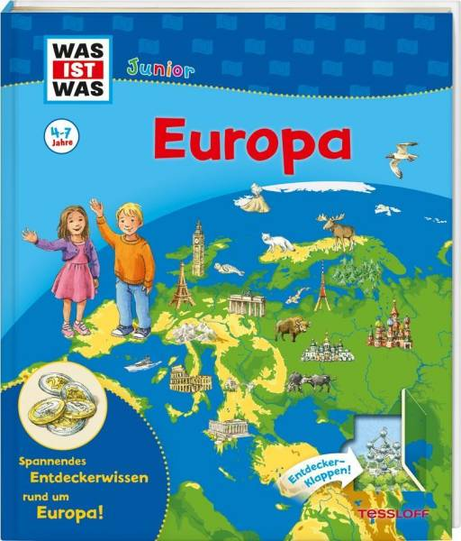 WAS IST WAS Junior Europa