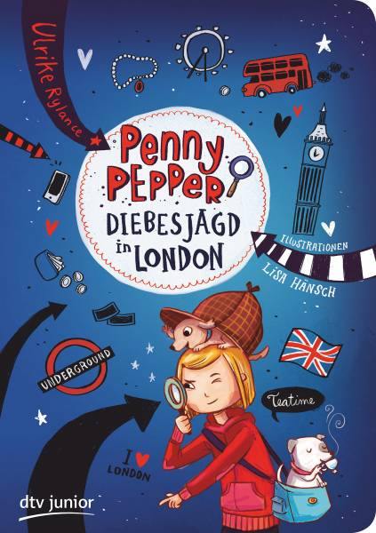 Penny Pepper 7 - Diebesjagd in London