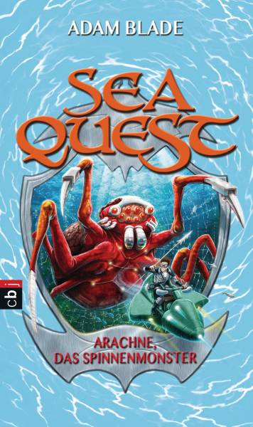 Sea Quest - Arachne, das Spinnenmonster; Band 5   ; Aus d. Engl. v. Gallus, Christine; Deutsch; it s