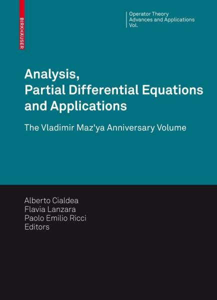 Analysis, Partial Differential Equations and Applications