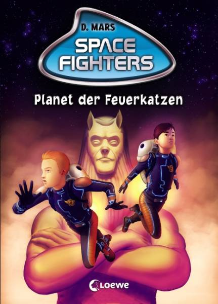 Space Fighters - Planet der Feuerkatzen: Band 2
