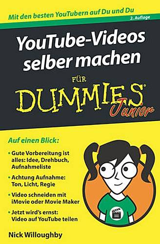 YouTube-Videos selber machen für Dummies Junior