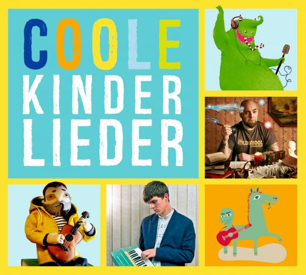 Coole Kinderlieder (CD) - Lieder, ca. 60 min.
