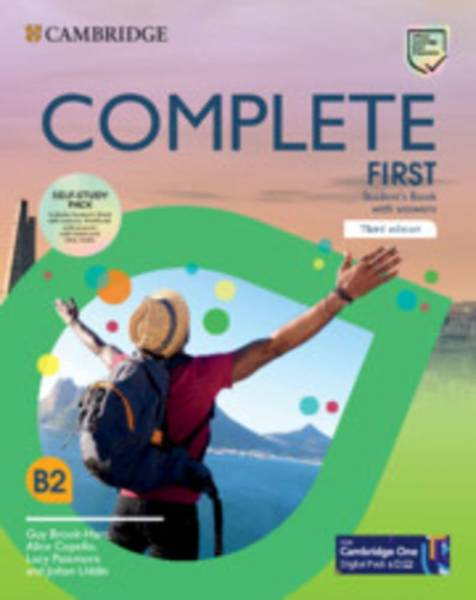 Complete First. Third edition. Self-Study Pack (Student's Book with answers and Workbook with answer
