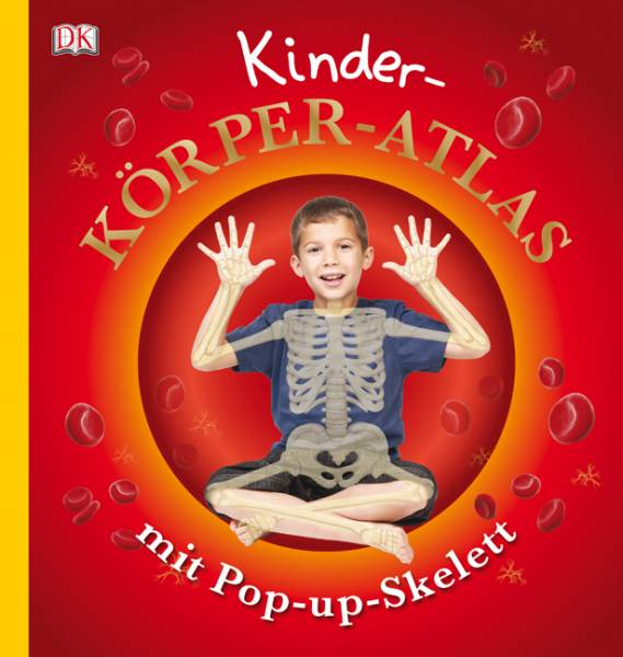 Kinder-Körper-Atlas mit Pop-up-Skelett