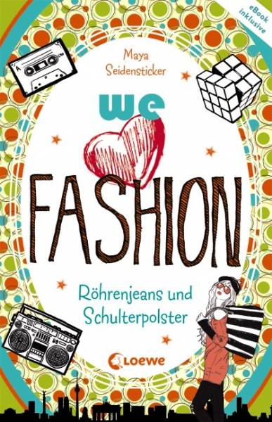 we love fashion - Röhrenjeans und Schulterpolster - we love fashion