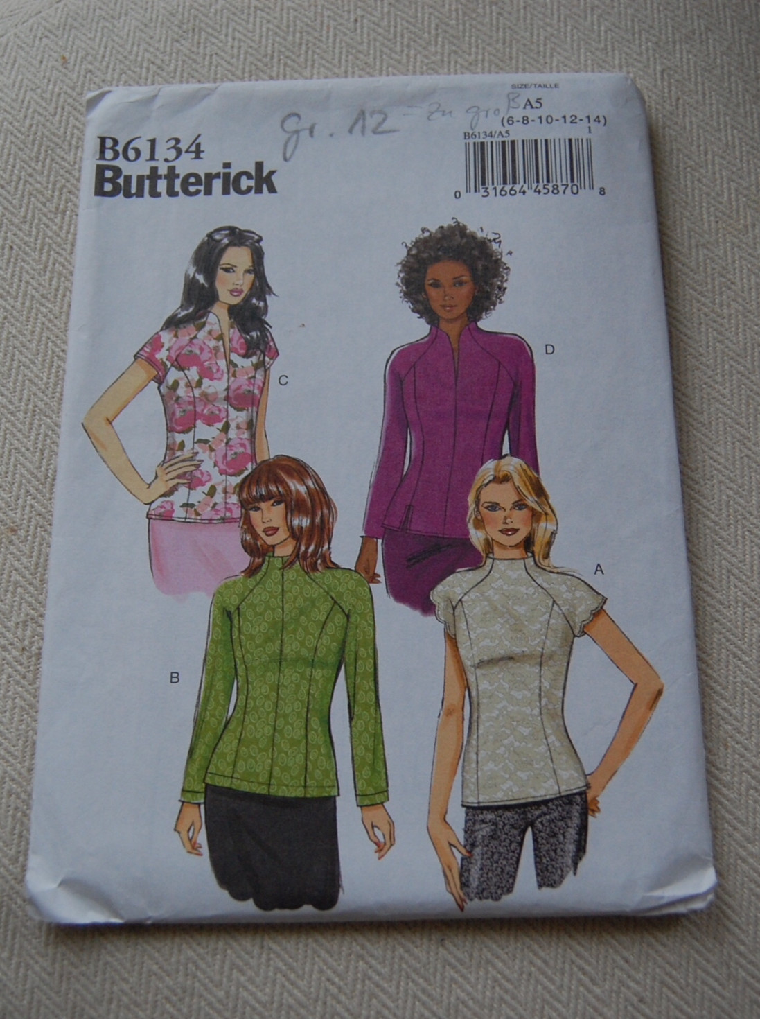 burda style Nutzerkreation Rocolina bunt durch den Winter....