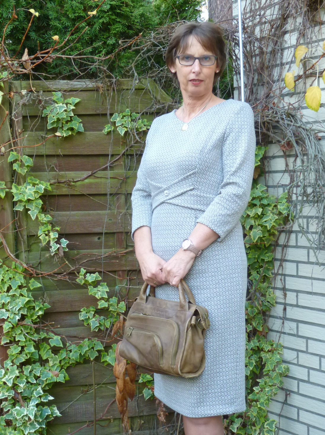 burda style Nutzerkreation Teacher Winterkleid