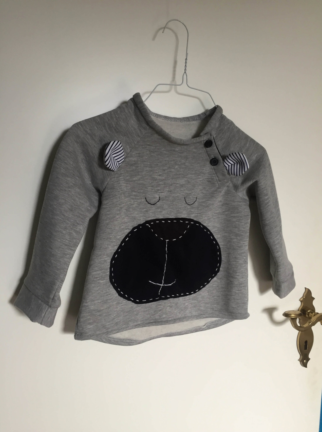 burda style Nutzerkreation TheSolvig Teddy-Pulli