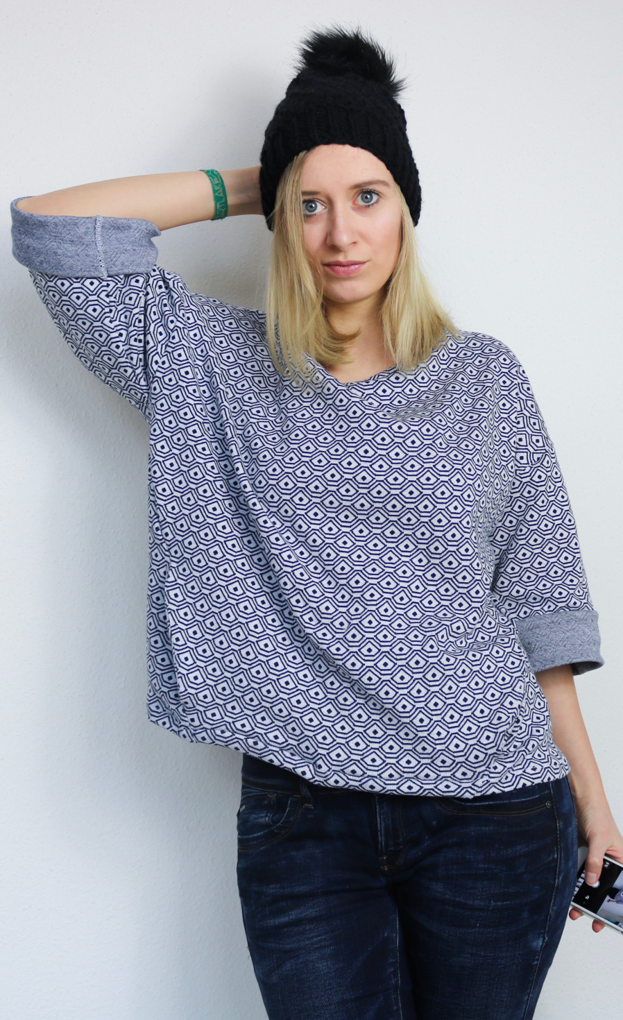 burda style Nutzerkreation Konfettiregen Oversize-Sweater
