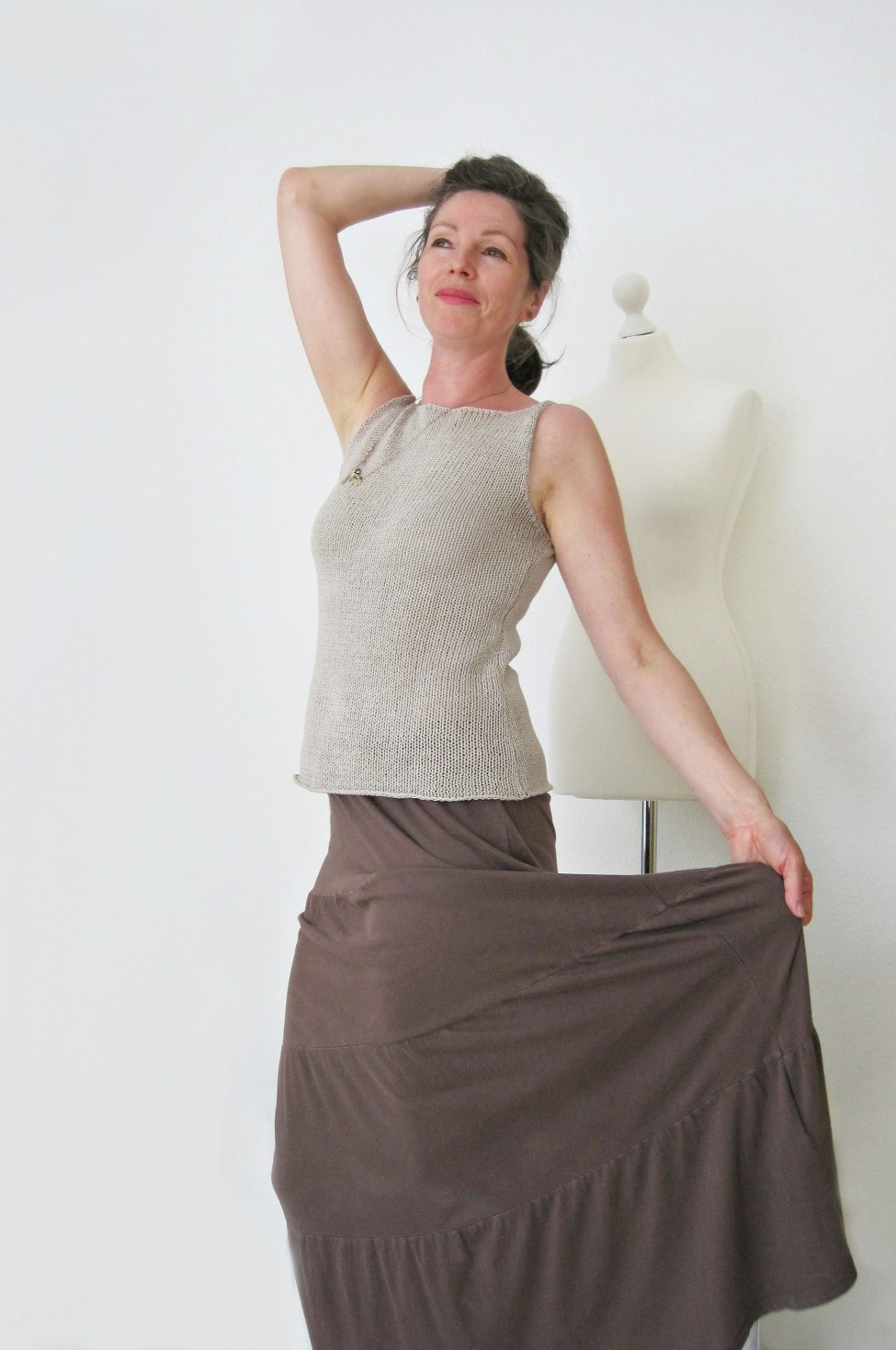 burda style Nutzerkreation melisa m. Upcycling Top - Rum Wie Num