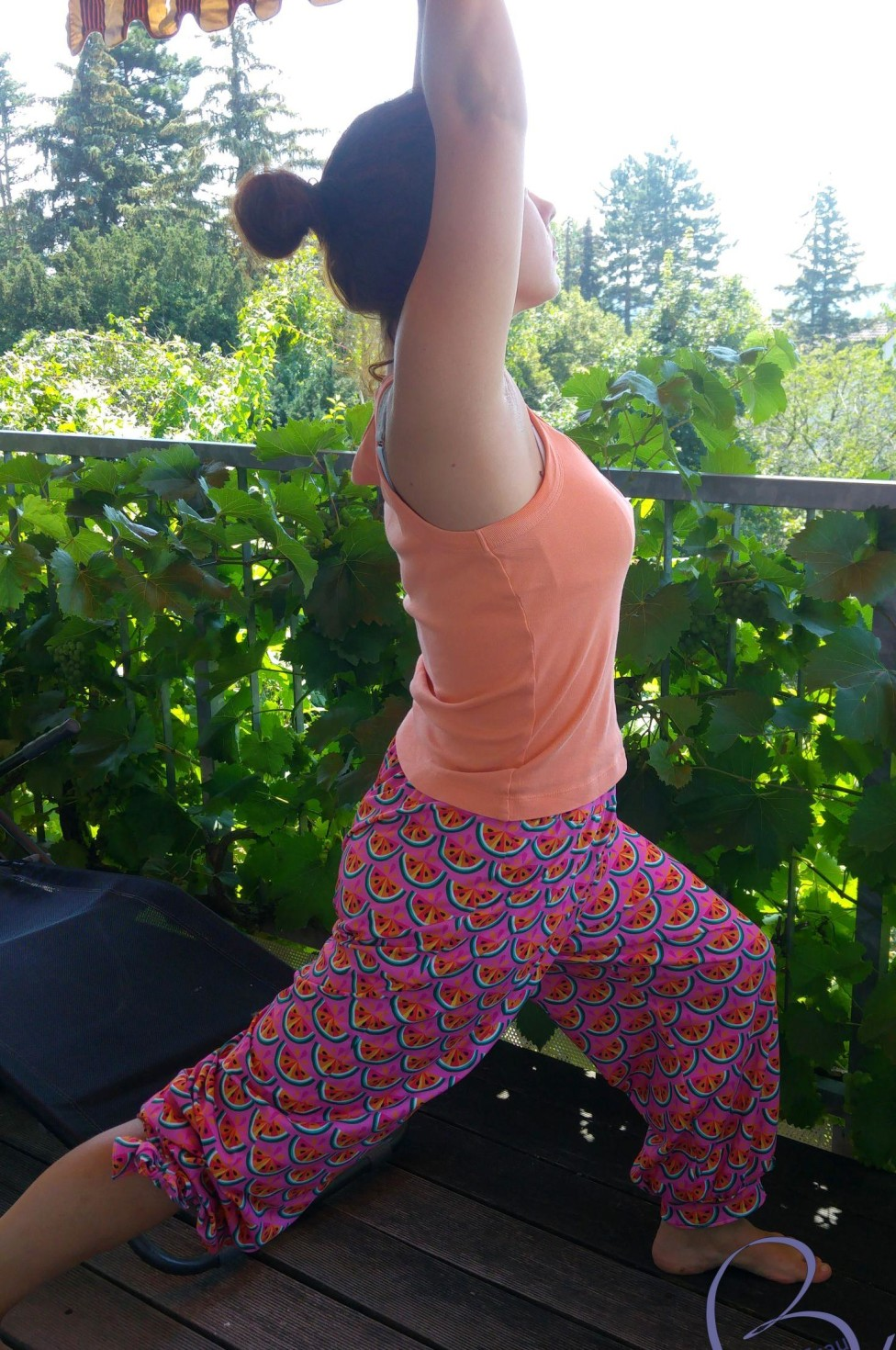 burda style Nutzerkreation Skylady Perfect Match: Summeryoga meets Melontropic