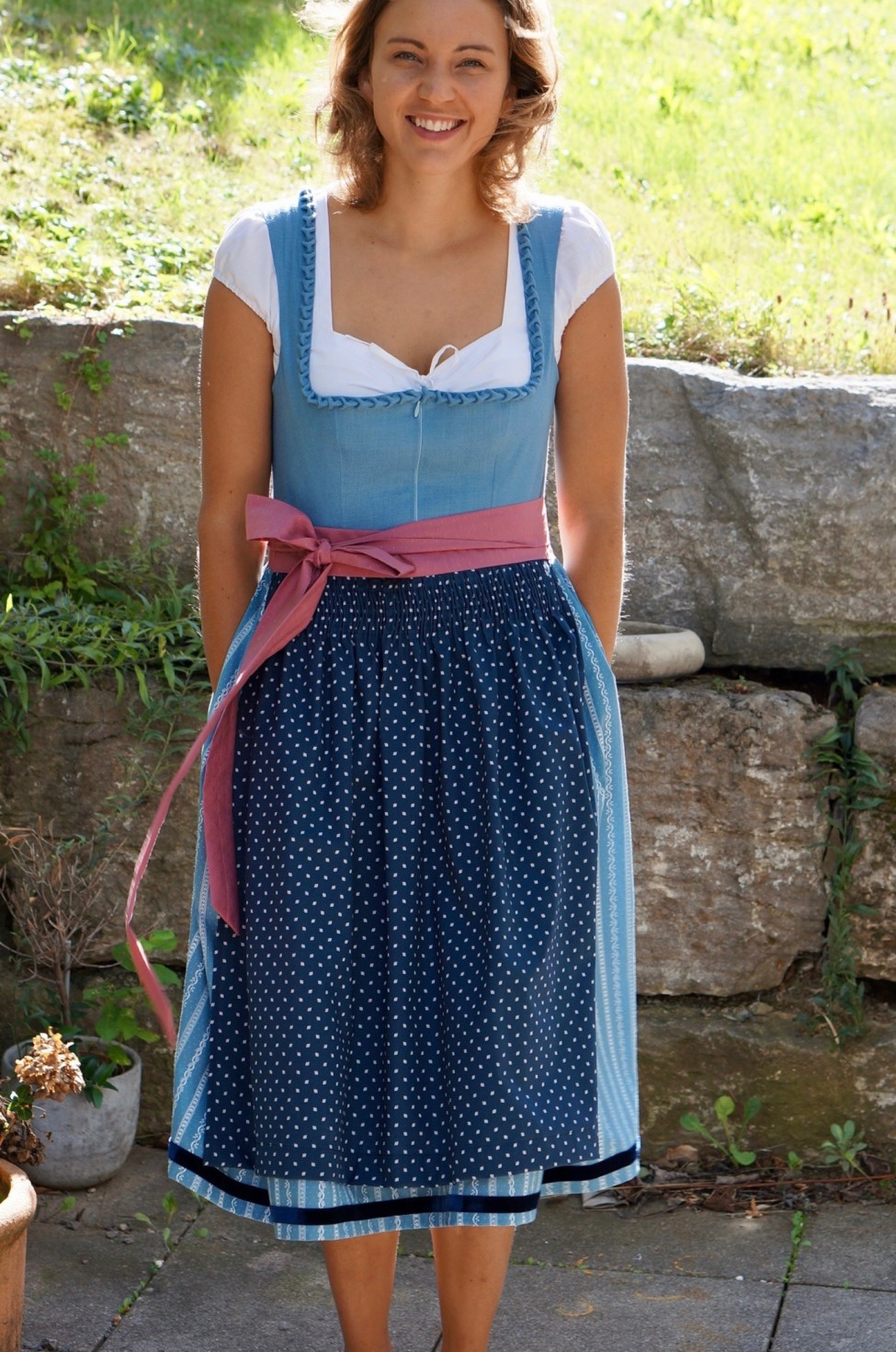 burda style Nutzerkreation CoriEiscreme Dirndl Kreation
