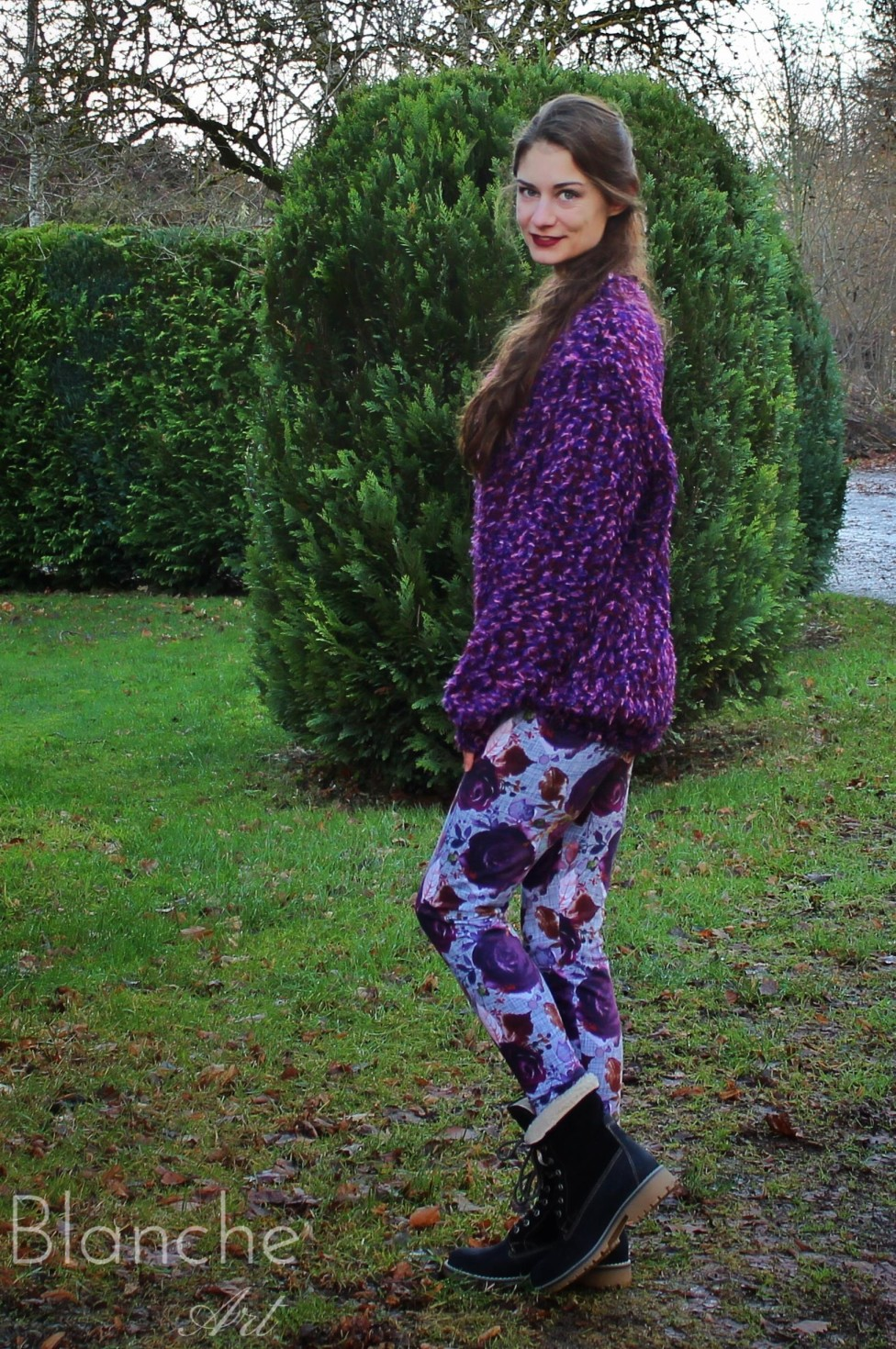 burda style Nutzerkreation Limacharlie Flower Leggings