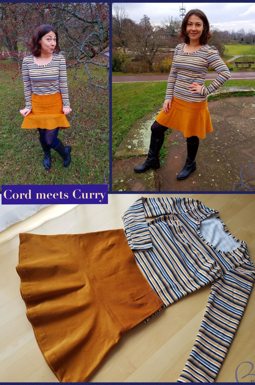 burda style Nutzerkreation Skylady Cord meets Curry