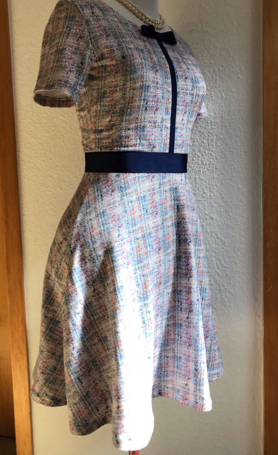 burda style Nutzerkreation rosafelsenstadt Fake Bouclé Dress
