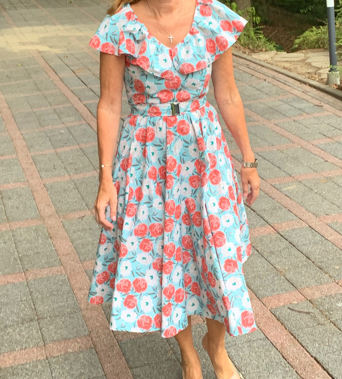 burda style Nutzerkreation Lefpom summer flower 2019