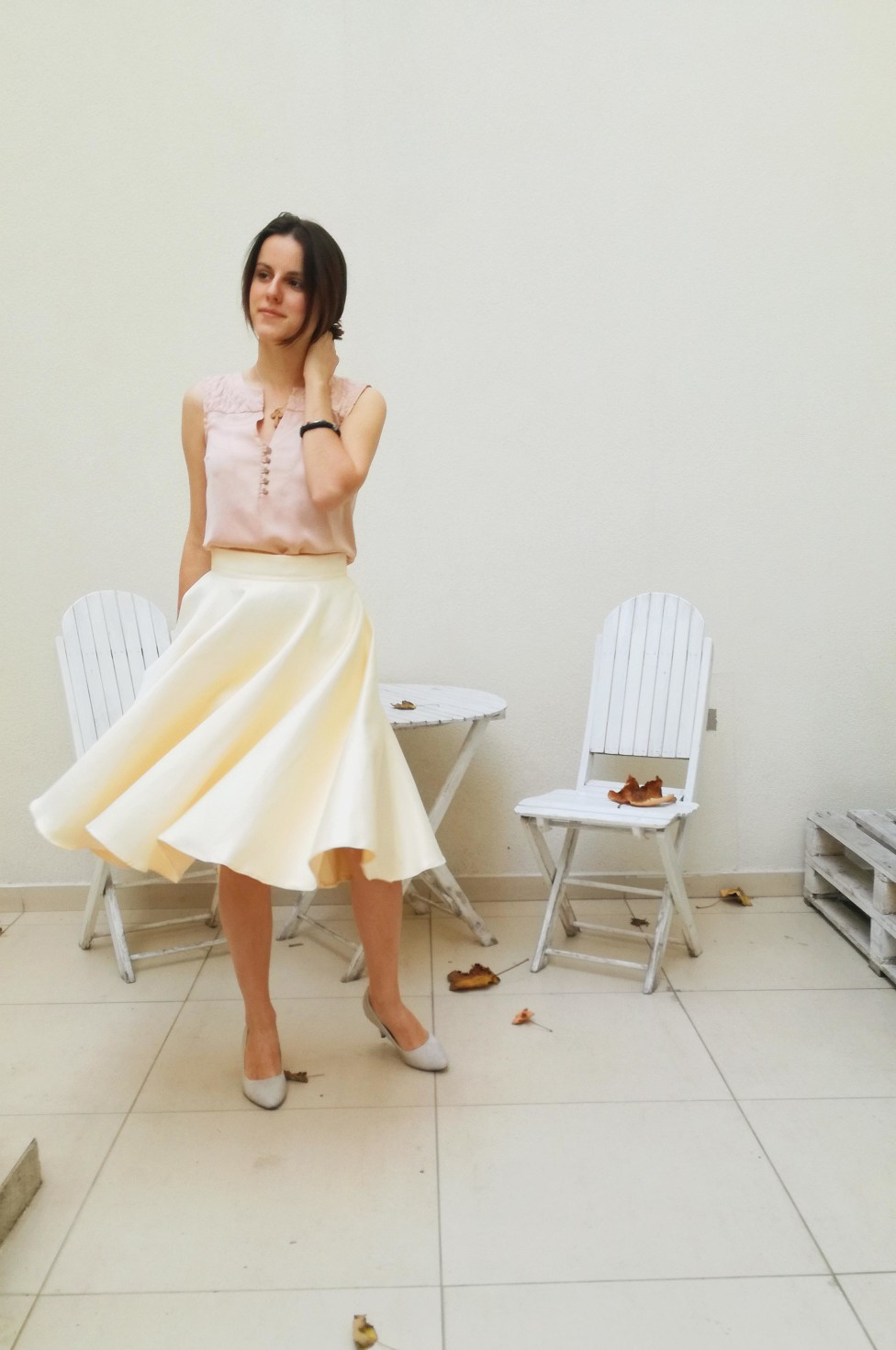 burda style Nutzerkreation Sladja PASTEL SUN SKIRT