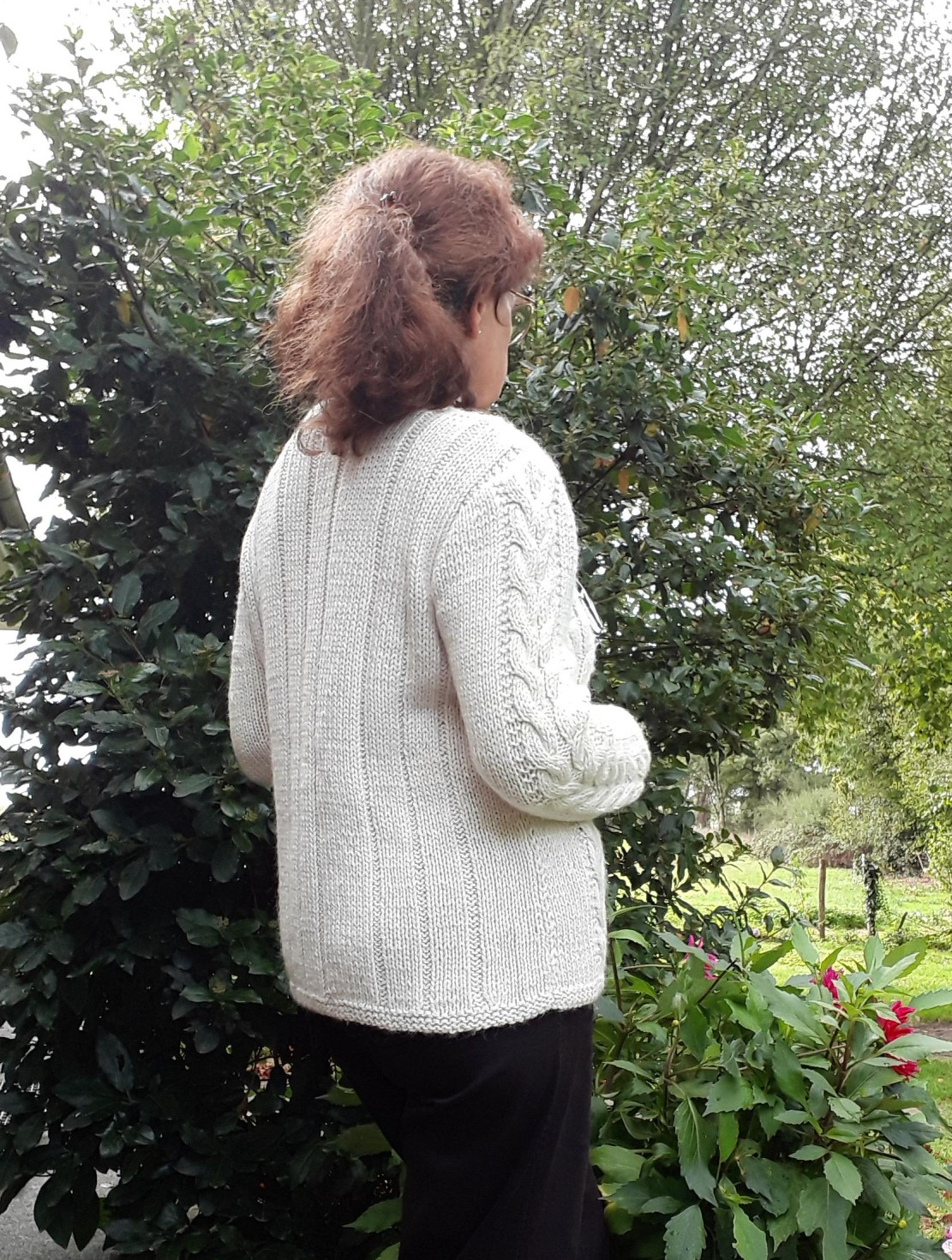 "burda style Nutzerkreation ANne "" Ich bin am stricken"""