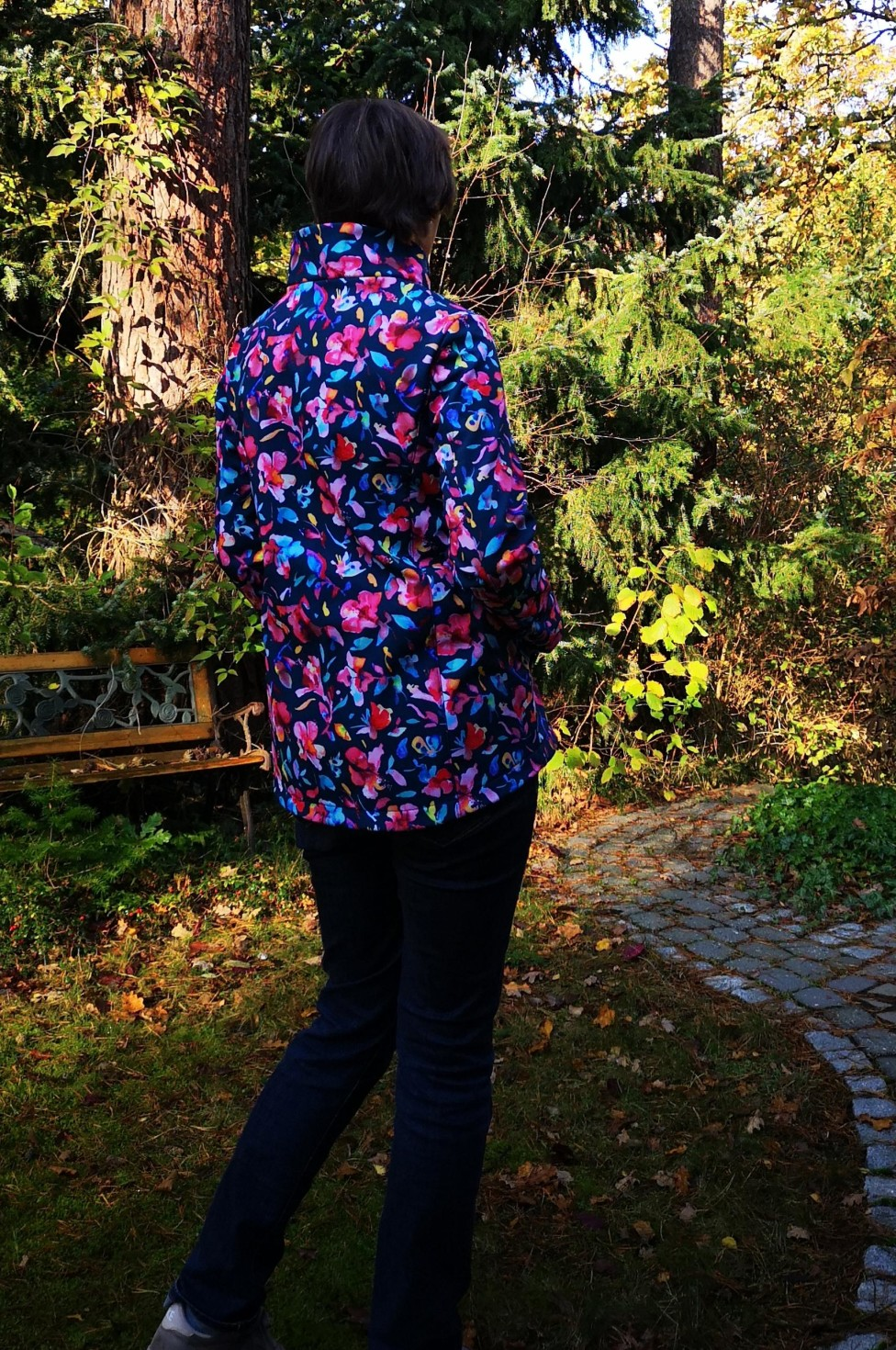 burda style Nutzerkreation Teacher Softshelljacke Susan