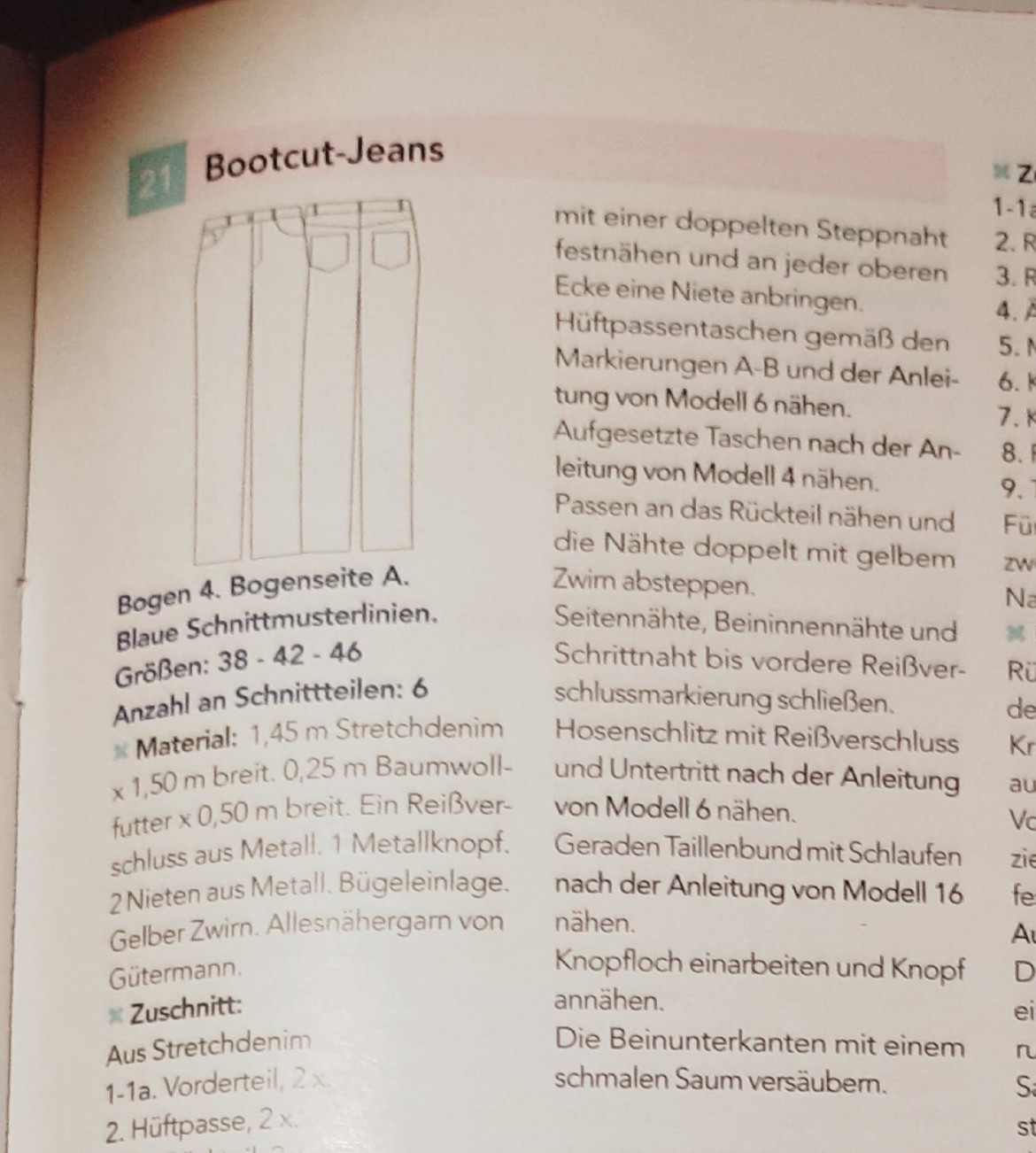 burda style Nutzerkreation beaxs Jeans & Co.