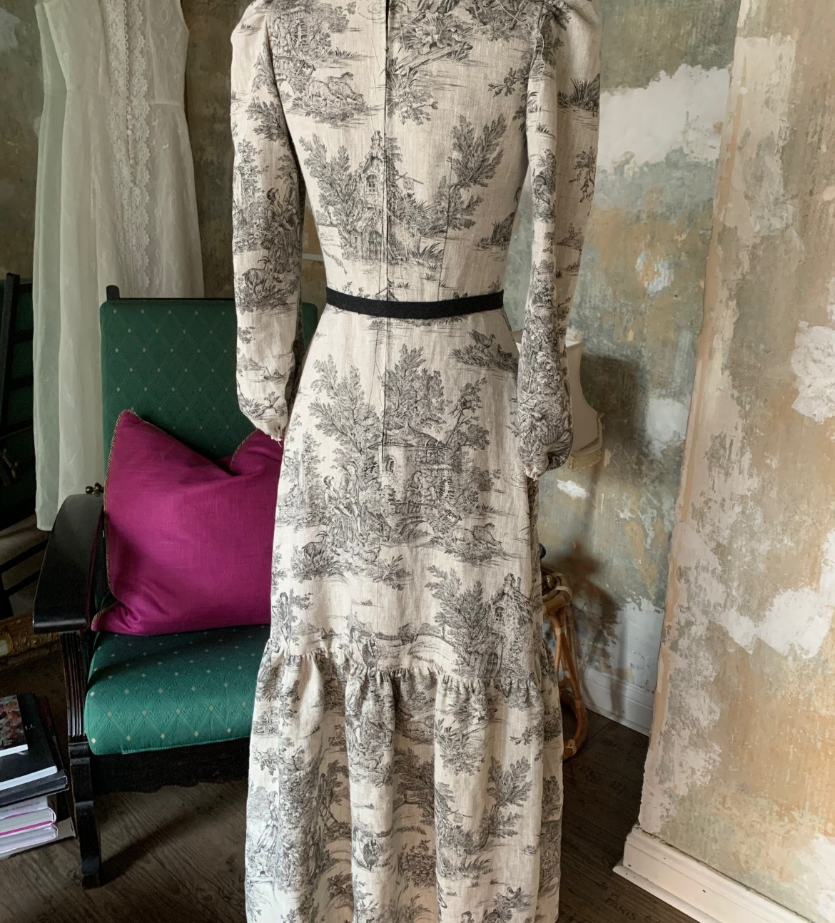 burda style Nutzerkreation metamorphose81 Toile de Jouy