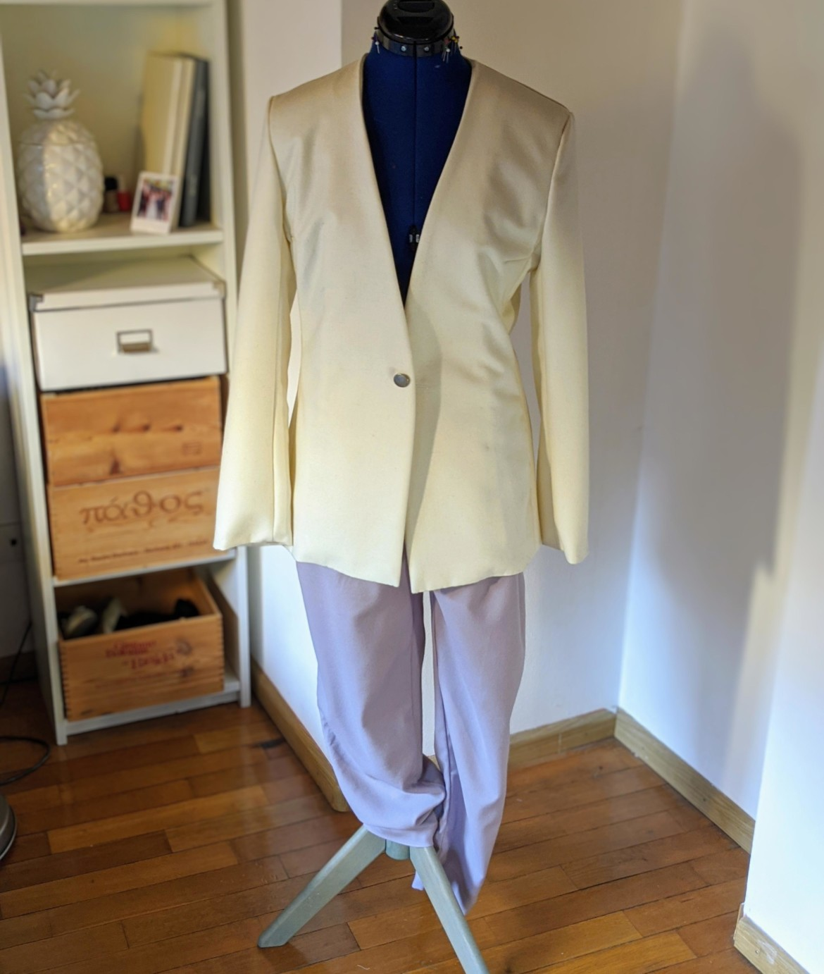 burda style Nutzerkreation fancy_juli Woll-Blazer ohne Revers