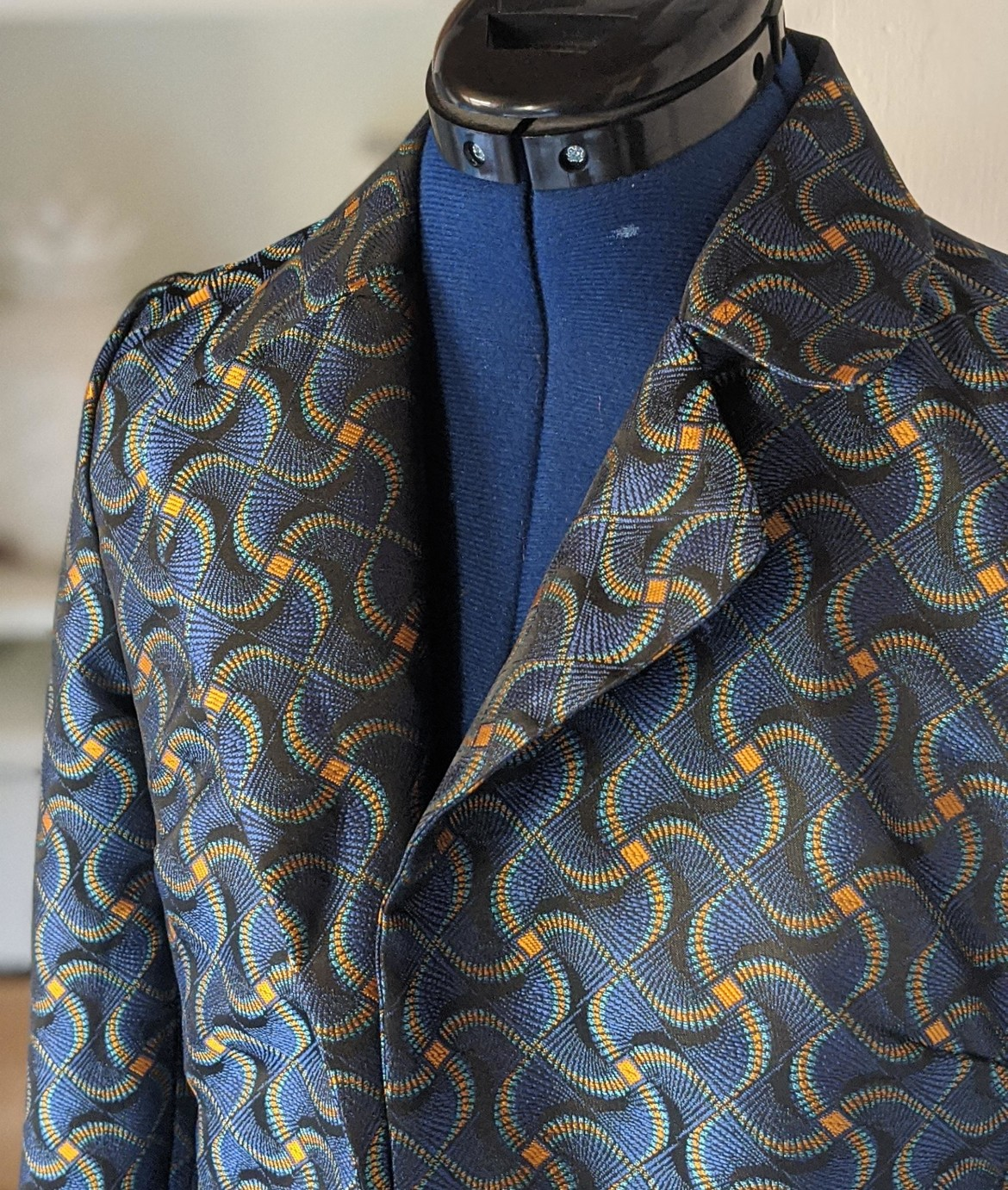 burda style Nutzerkreation fancy_juli Jacquard Kurzblazer