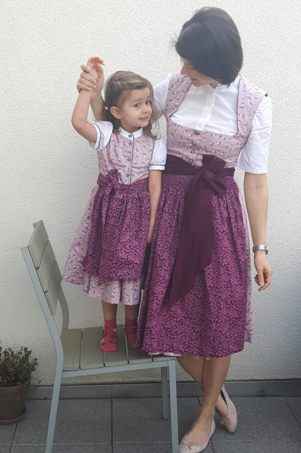 burda style Nutzerkreation JanaGutmann Dirndl im Partnerlook