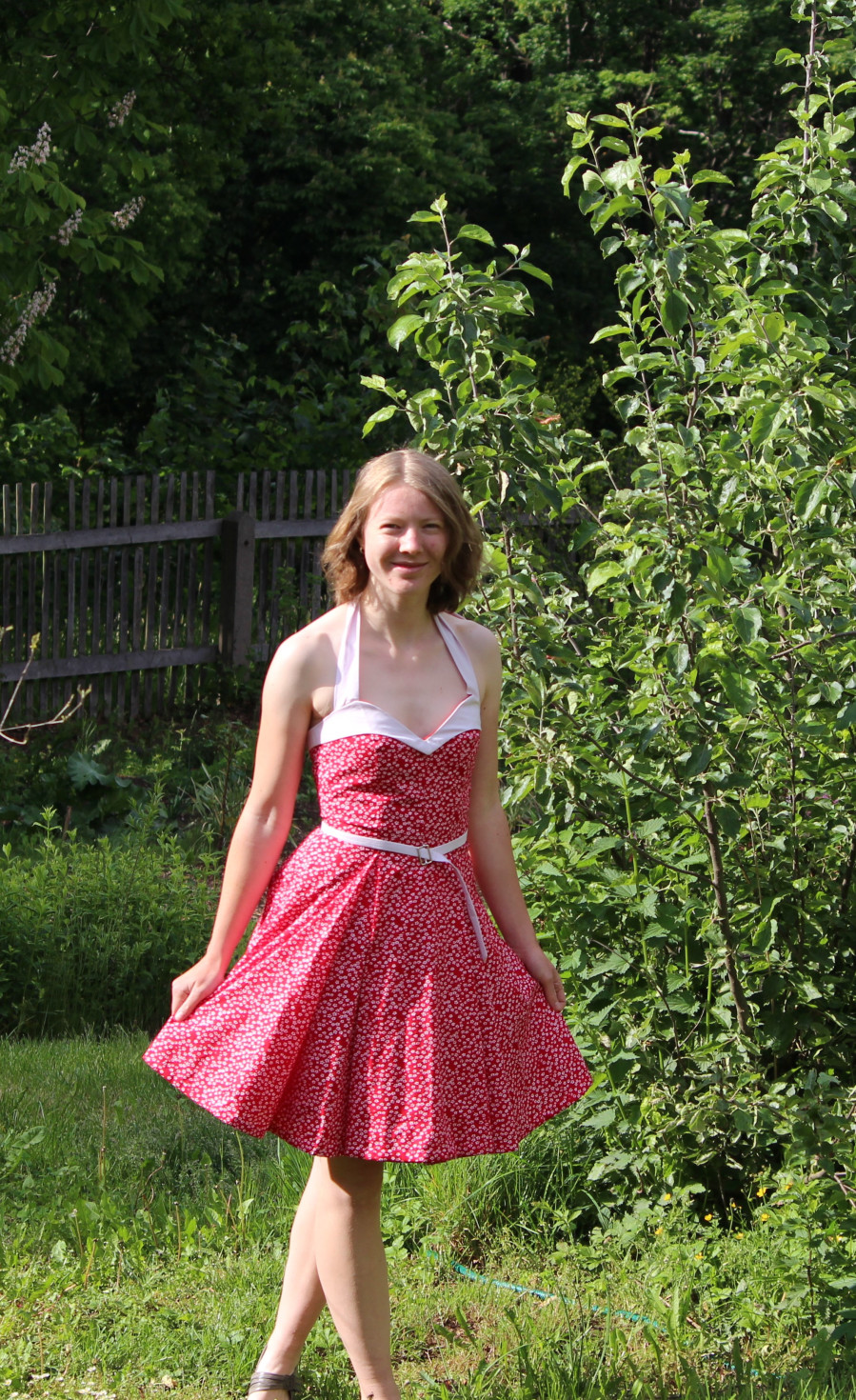 burda style Nutzerkreation Susi_96 Sommerkleid in rot