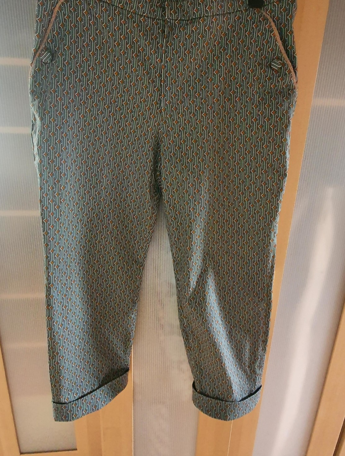 burda style Nutzerkreation hoschis4 Hose 106aus Burda 08/2020 aus Originalstoff