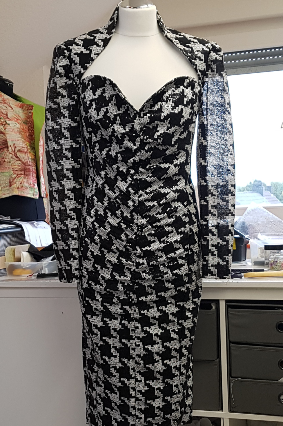 "burda style Nutzerkreation deVilla Black and white for a ""Diva"""